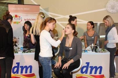 Održana dm beauty academy radionica