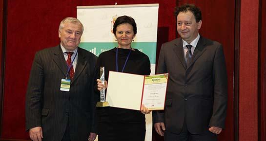 Biovega dobila priznanje Brand Leader Award