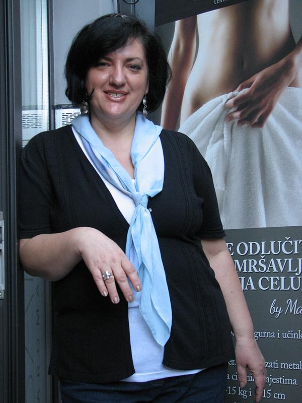 Ljiljana Mesić: Samo sam prvi dan osjećala glad