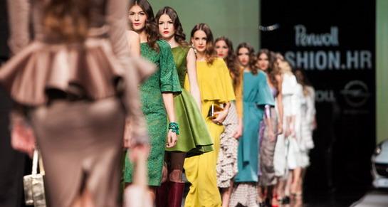 Ekskluzivnom revijom Aleksandre Dojčinović otvoren najveći Perwoll Fashion.hr dosad