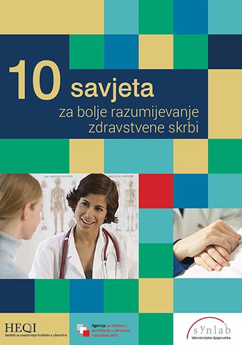 10 savjeta za bolje razumijevanje zdravstvene skrbi