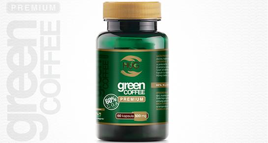 NOVO:  Green Coffee Premium sa 60% klorogenične kiseline