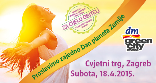 Proslavi Dan planeta Zemlje uz dm green city project