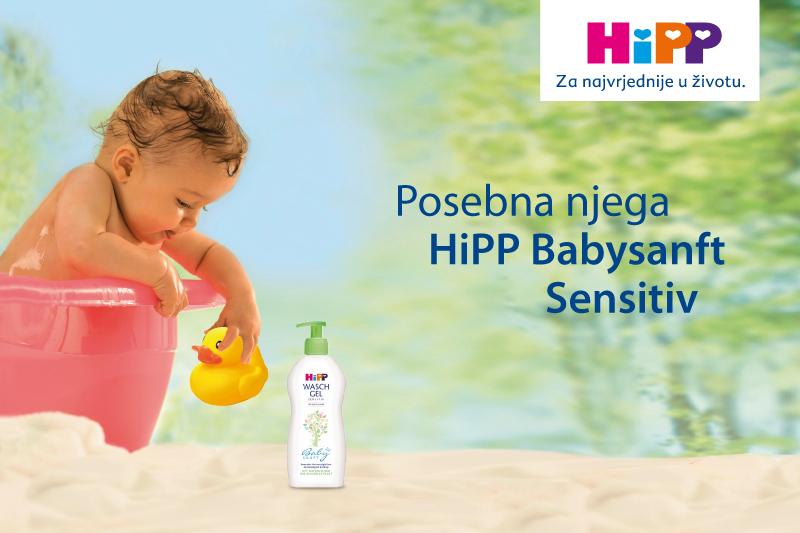 HiPP Babysanft - blaga njega za osjetljivu kožu