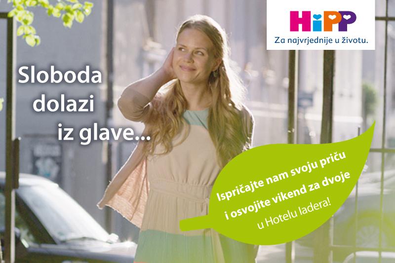 HiPP Babysanft njega: Sloboda dolazi iz glave...