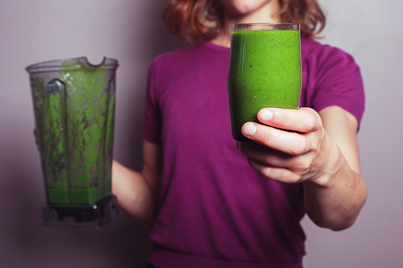 Glowing Green Smoothie - zelena anti age bomba