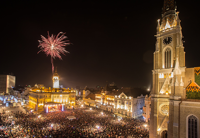 Čarobni Novi Sad - totalni hit za doček Nove godine