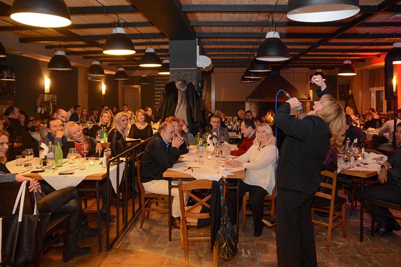 Večer za pamćenje - Tereza Kesovija u restoranu Komin