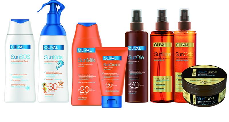 Zaštita  kože od štetnih utjecaja sunca uz Olival Sun