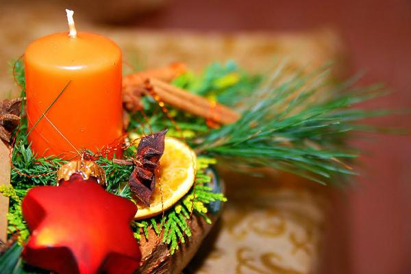 Uz eterična ulja Božić je blizu