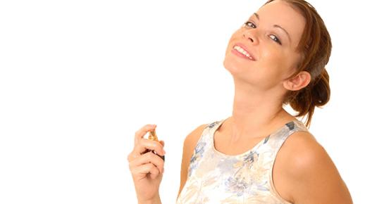 Naslojavanje parfema