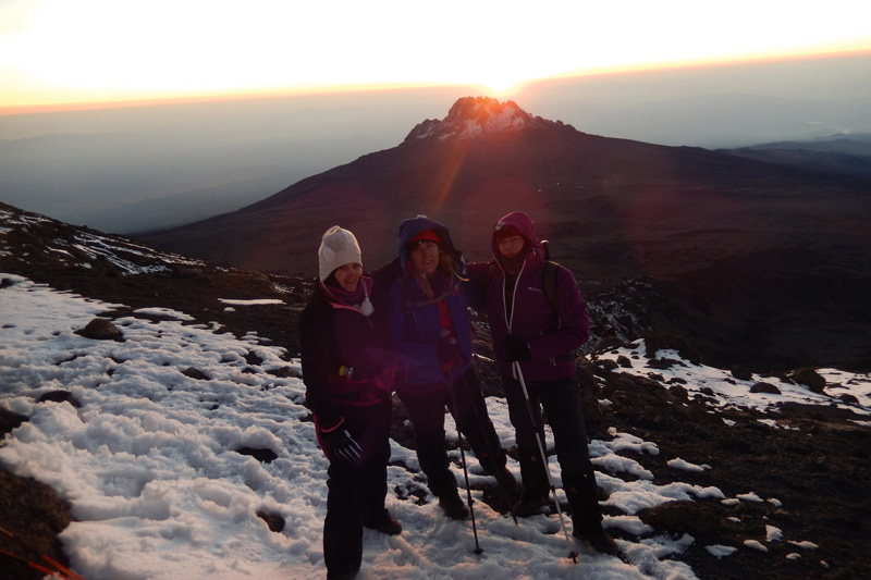 Heroine osvajaju Kilimandžaro