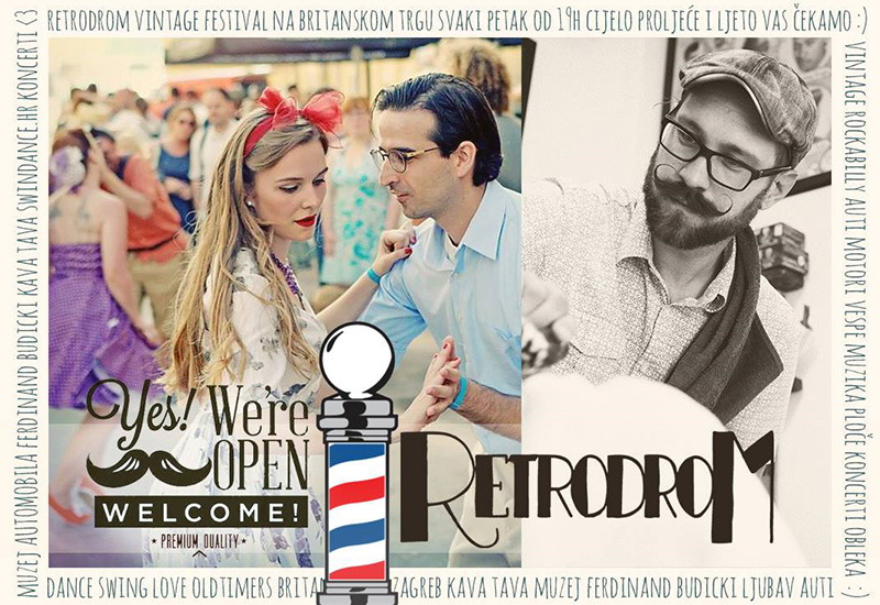 Svi na RetroDrom - festival vintage kulture, mode, plesa i starih automobila!