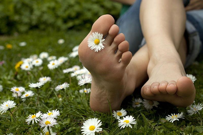 Kućni piling stopala - za hod kao po oblacima