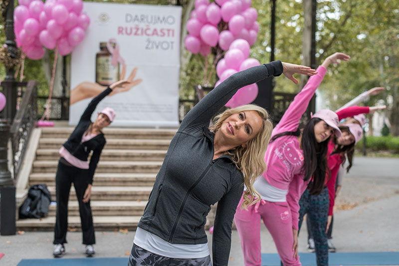 Europa Donna Hrvatska i Solgar nastavljaju kampanju Darujmo ružičasti život