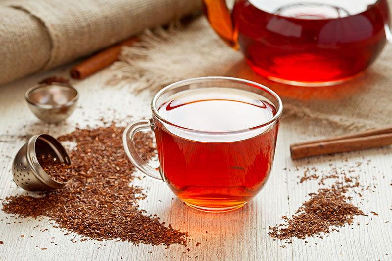 Rooibos - umirujući čaj za djecu i dojilje