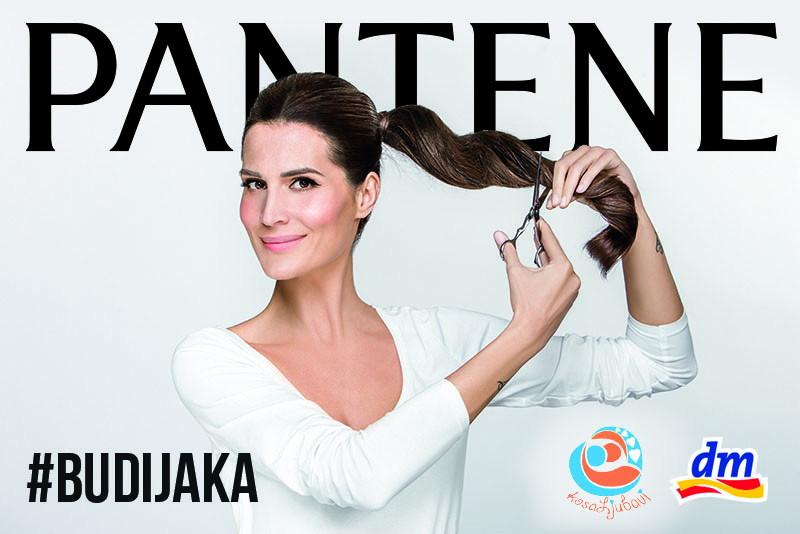 Iva Balaban donirala kosu u kampanji Budi jaka
