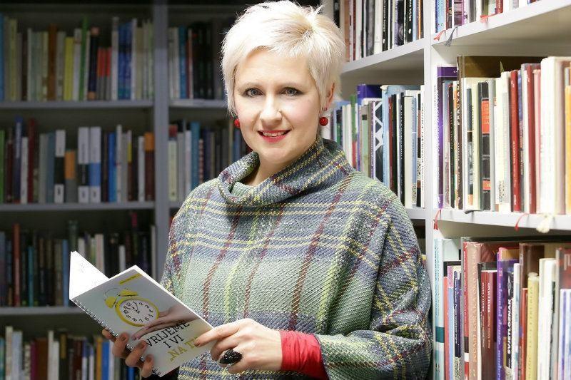 Kristina Zvonar Brkić: Vrijeme i vi možete biti 'na ti'