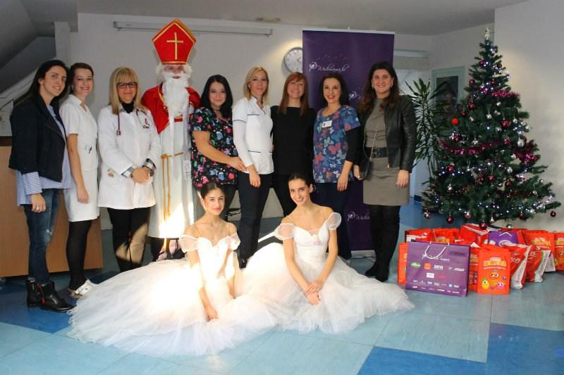 Wish mama i Sveti Nikola darovali Dječju bolnicu Srebrnjak