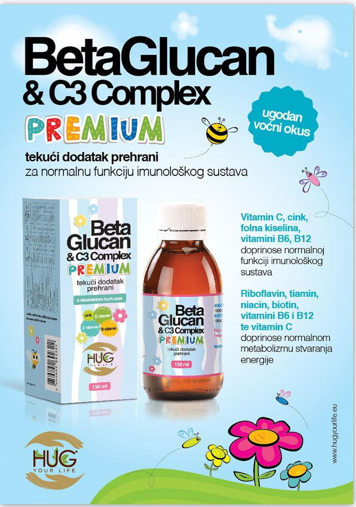 NOVO: Beta Glucan & C3 Complex Premium