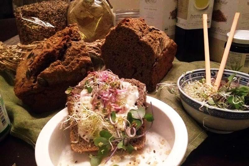 Pivski kruh by Marina - kruh od konoplje iz vaše kuhinje