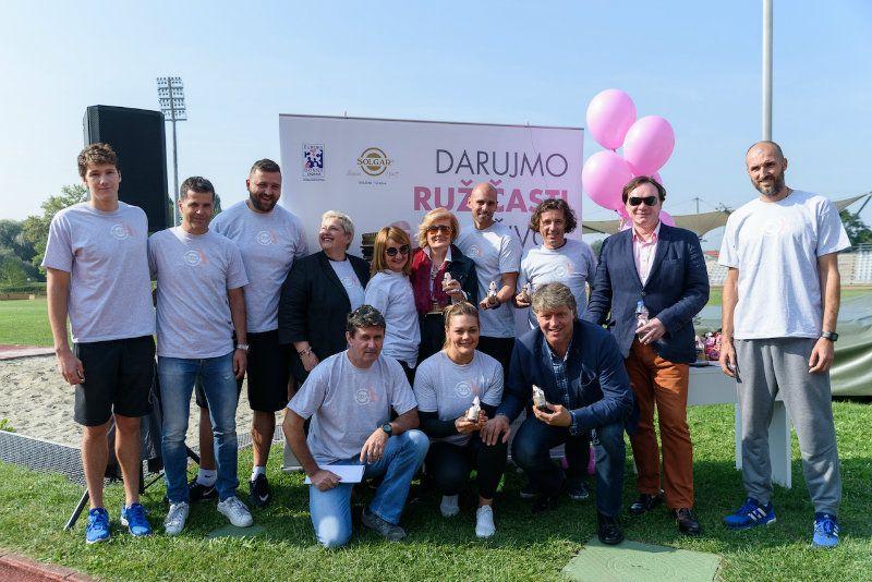 Hrvatski olimpijci trčali za oboljele od raka