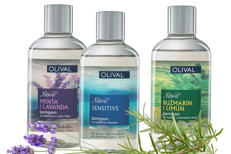 Olival Natural šamponi s eteričnim uljima - za prirodnu njegu i vlasišta