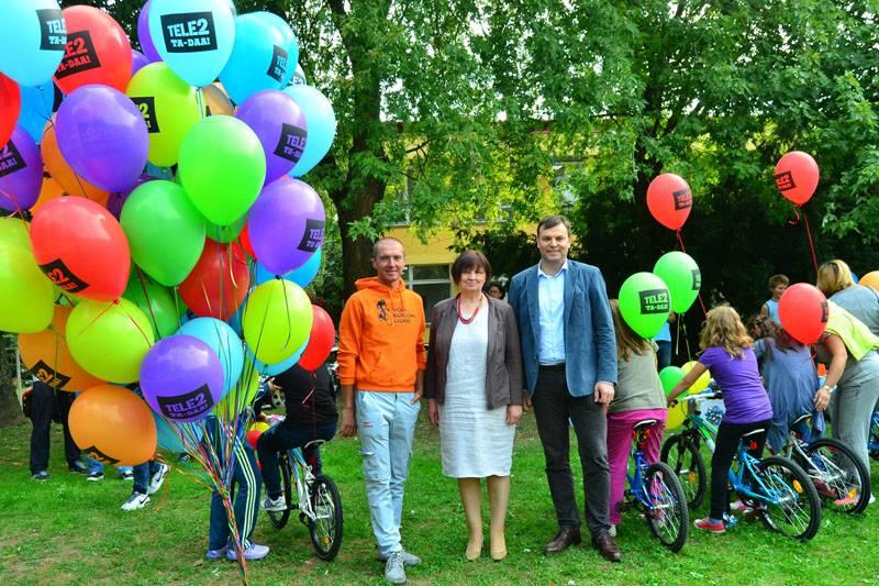 Djelatnici Tele2 donirali 22 bicikla Centru za autizam