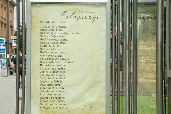 Oda poeziji ili - kad poezija u srcu (i na autobusnoj postaji za Voltino) stanuje
