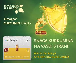 Almagea Curcumin Forte - dobitna kombinacija za vaš imunitet