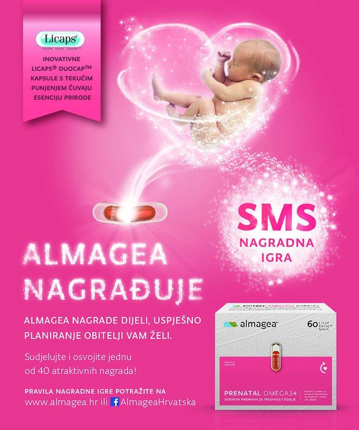 Almagea dijeli nagrade za sve kupce  Almagea Prenatal Omega3+ dodataka prehrani