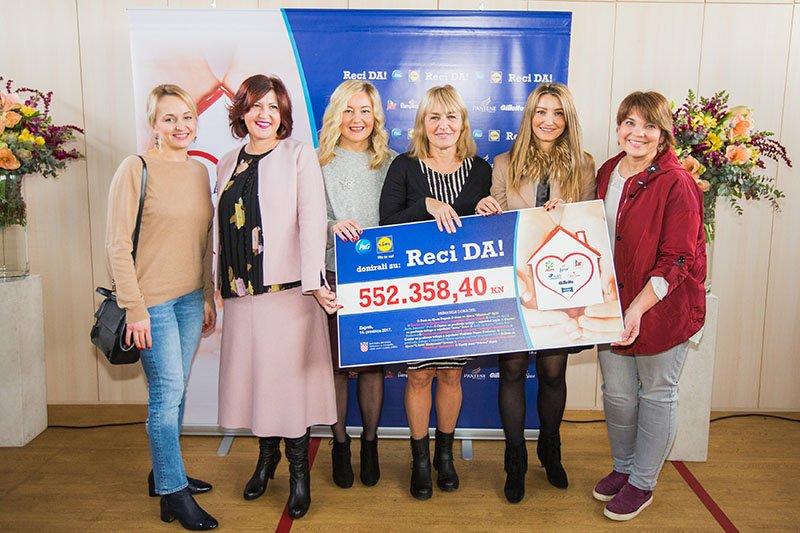 Humanitarna kampanja Reci DA! prikupila pola milijuna kuna za obnovu djecjih domova