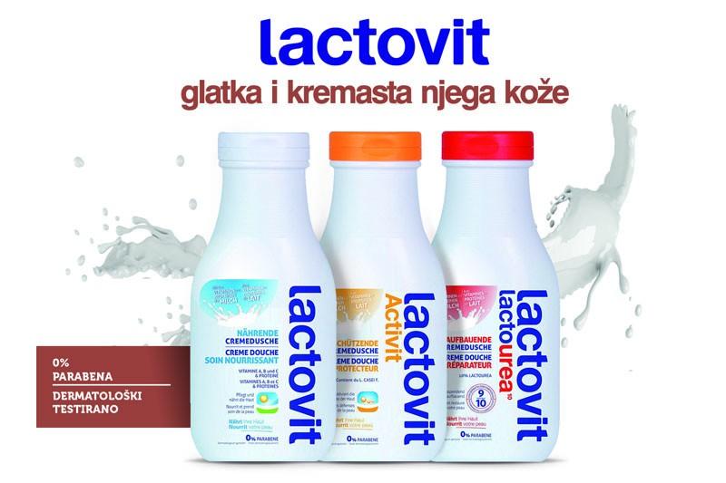 Lactovit - glatka i kremasta njega kože za cijelu obitelj