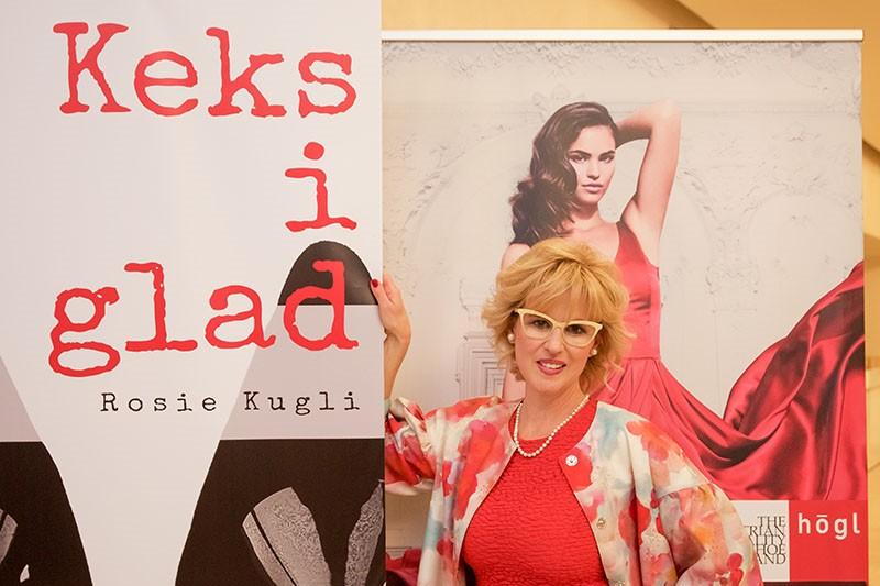 Rosie Kugli, hrvatska Carrie Bradshaw, predstavila knjigu kolumni Keks i glad