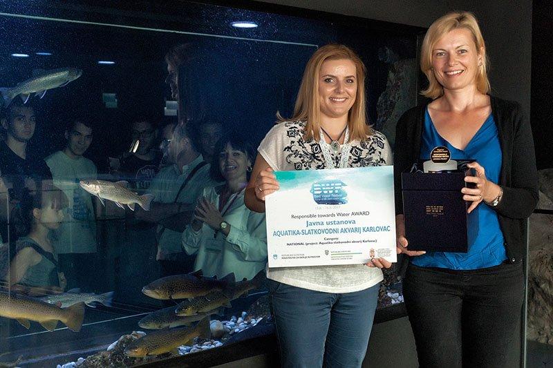 Novo priznanje za karlovačku Akvatiku - prvo mjesto na Bled Water Festivalu