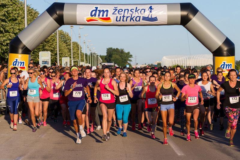 dm ženska utrka obara rekorde: Više od 6.900 sudionika trčalo tri utrke