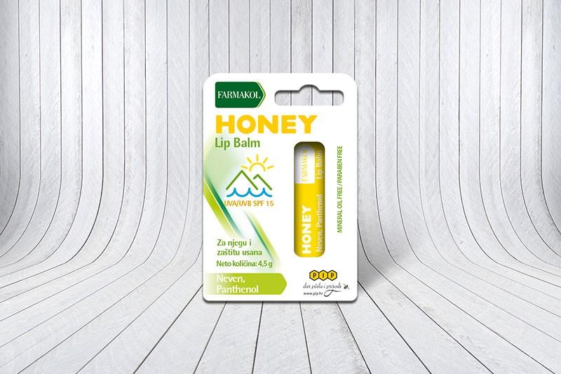Med i propolis - pčelinji proizvodi za njegu usana