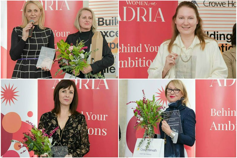 Women in Adria nagrađuje najbolje poduzetnice
