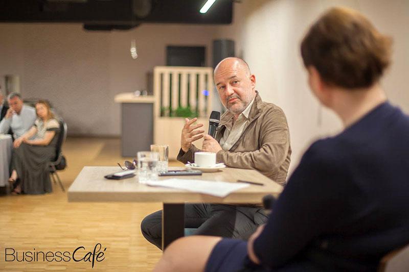 Baybars Altuntas o uspjehu u poduzetništvu na posebnom izdanju Business Cafea u Zagrebu