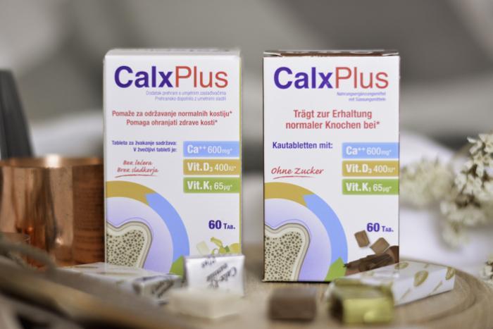 CalxPlus - moćna formula za očuvanje zdravlja i čvrstoće vaših kostiju