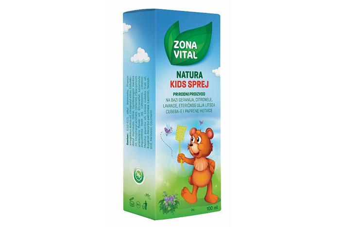 Nikad lakše protiv komaraca - uz Natura Kids sprej i Natura gel iz Zone Vital