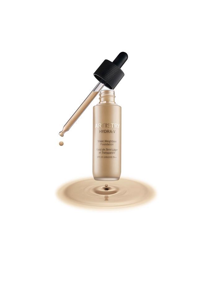 Amway Artistry Hydra-V™ - puder koji prekriva i čini kožu zdravom