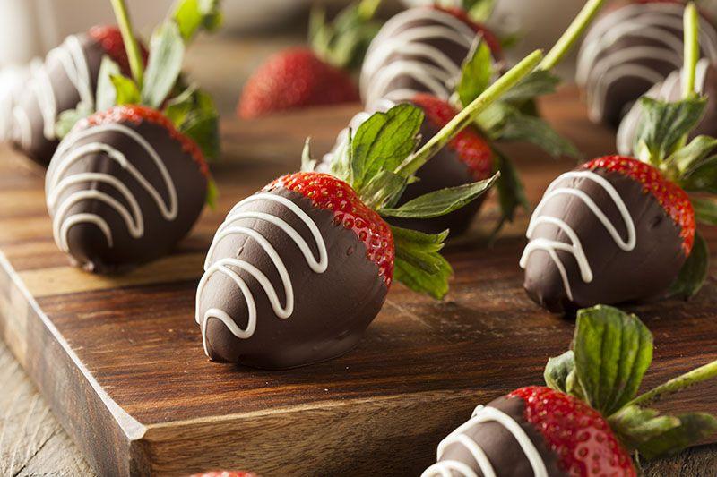 Što može biti bolje od spoja voća i čokolade?