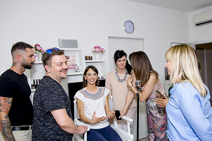 Giovanni Fasiello i Saša Joković predstavili Reviderm novitete u make up-u