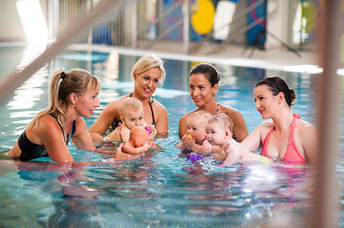 Sonnentherme: Prva sauna za bebe samo je dio bogate ponude za najmlađe