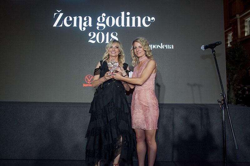 Ženom godine 2018 proglašena je -  Gordana Buljan Flander