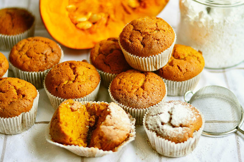 Baš jesenska poslastica: Muffini od bundeve i chia sjemenki