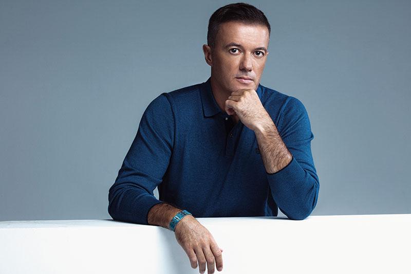 Joško Jeličić u novoj ulozi - ambasadora hrvatskog branda Bleu Homme