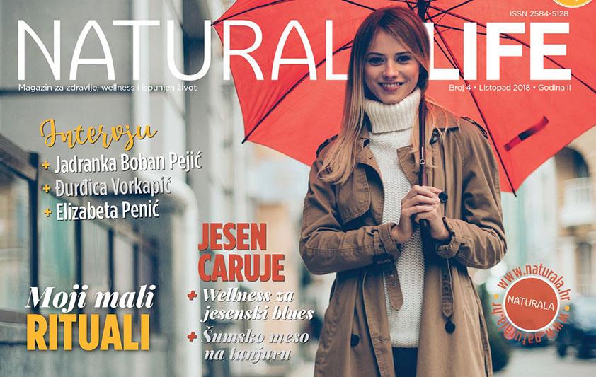 Vrijeme samo za tebe, uz novi broj magazina Naturala Life
