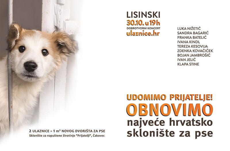 Udomimo prijatelja - pridruži se akciji obnove najvećeg hrvatskog skloništa za pse